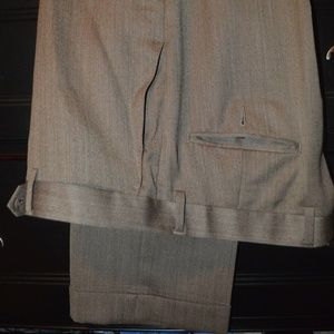 Tan Hart Schaffner Marx 36/30 dress pants